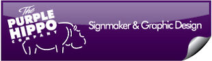 The Purple Hippo Sign Co