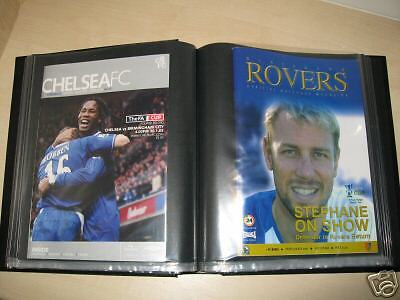 1  Football  Programme  /  Magazine  Binder    New