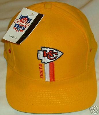 Kansas City Chiefs NFL Football logo cap hat Adult NEW