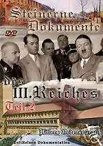 Steinerne Dokumente des 3. Reiches - DVD 2 Ordensburgen Sonthofen, Crössinsee online kaufen