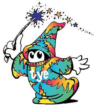 The Tye Dyed Wizard