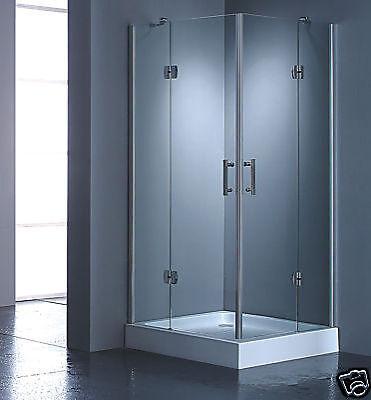 Duschkabine Duschabtrennung 80x80 nur Glas sofort