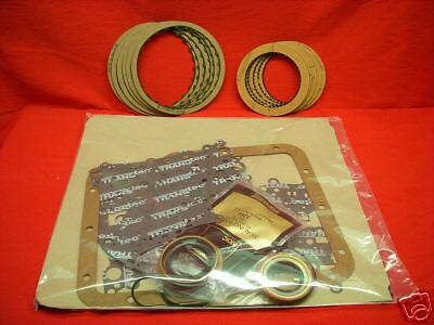 POWERGLIDE PG TRANS TRANSMISSION REBUILD KIT WITH ALL FRICTION CLUTCHES  62 73