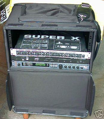 RACK FLIGHT CASE 6 unità x multieffetto amplificatore