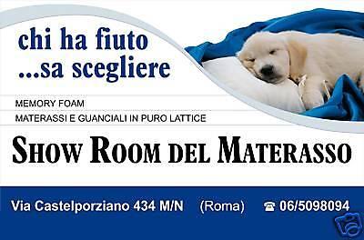 SHOWROOM DEL MATERASSO ROMA